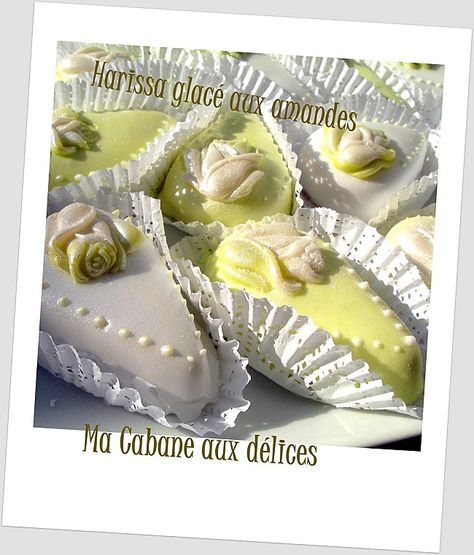 Harissa glace aux amandes photo 1