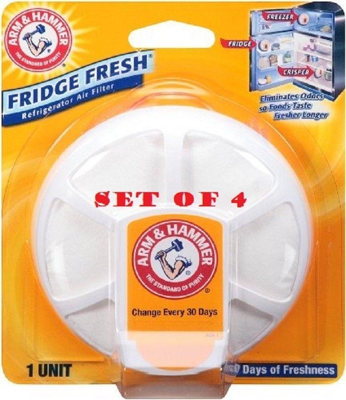 Fridge Fresh Air Filter Refrigerator Freezer Crisper Arm and Hammer Home Odor #FridgeFreshAirFilter