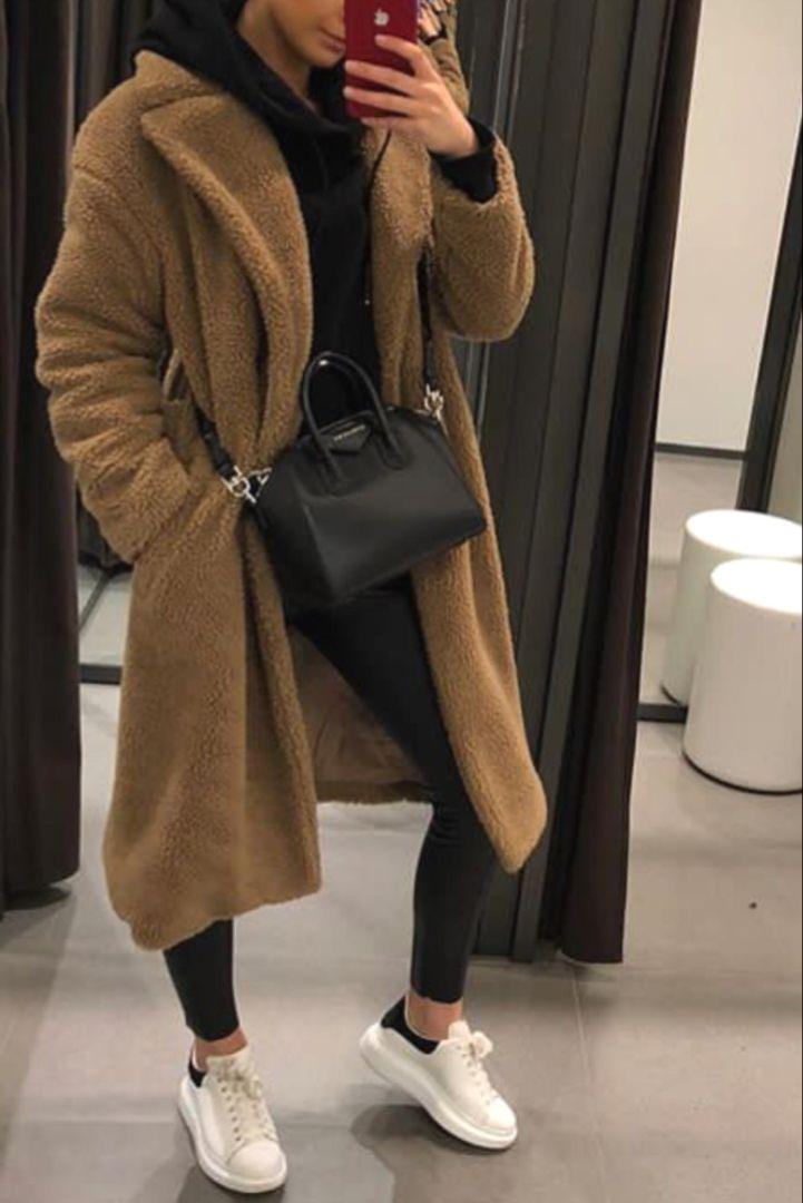 Le manteau en peluche : tendance de l'hiver – Tendance organisée – The Fashion Magazine
