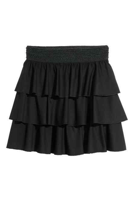 Falbaniasta spódnica