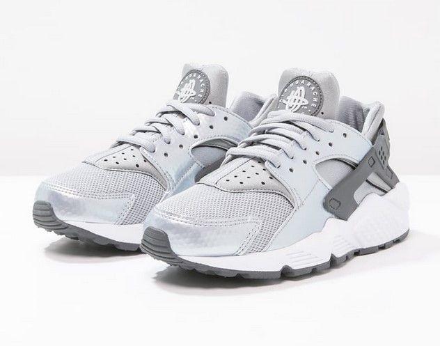 Nike Sportswear AIR HUARACHE RUN Baskets basses wolf grey/dark grey prix Baskets Femme Zalando 120,00 €