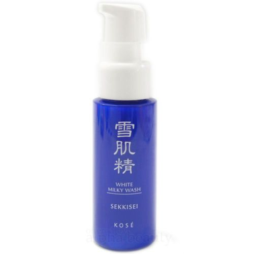 Kose-Japan-SEKKISEI-White-Milky-Wash-Cleanser-20ml-0-67-fl-oz-with-Pump-Head