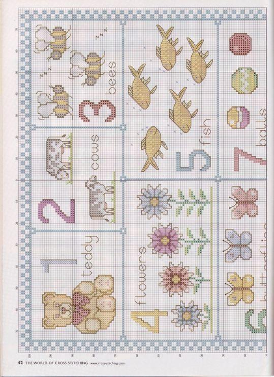 Gallery.ru / Фото #20 - The world of cross stitching 045 май 2001 - WhiteAngel / LICZEBNIKI 2/4