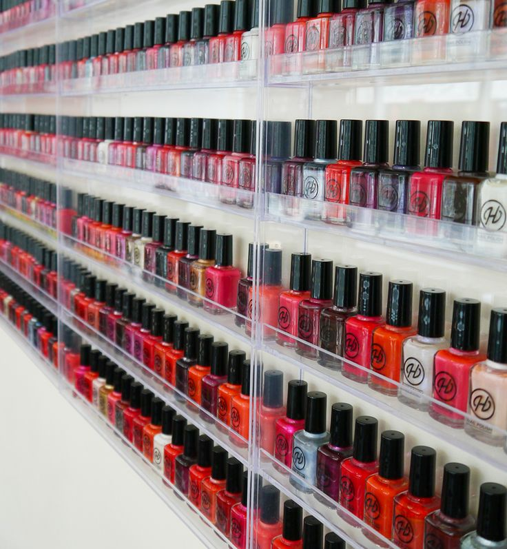 Wardrobe Conversations: Hepburns Nail Lounge. Dundee Salon filled with custom nail colours.