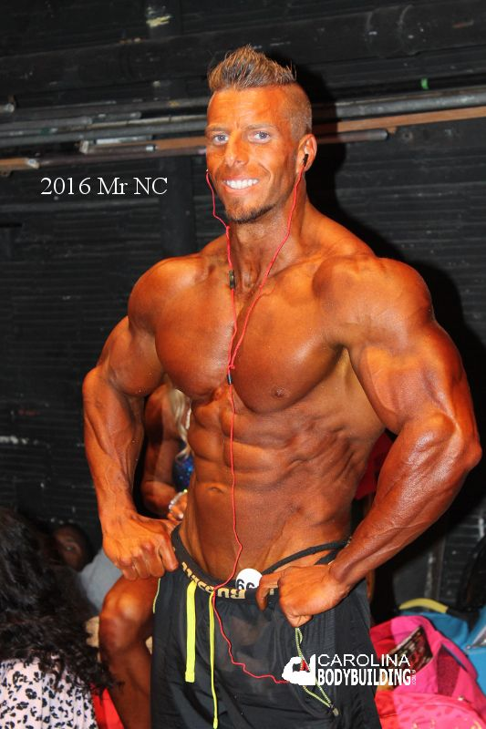 Mike Wilkinson 2016 NPC middleweight and Mr North Carolina ...