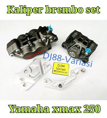 Kaliper Brembo xmax 250 depan belakang original plus bracket breket caliper