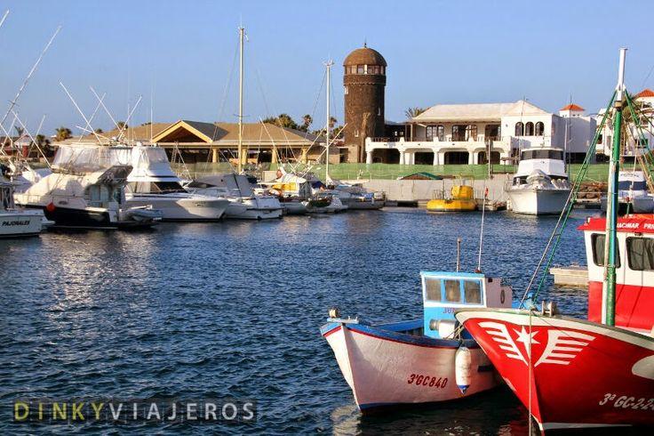 Caleta de Fuste. Puerto, Fuenteventura