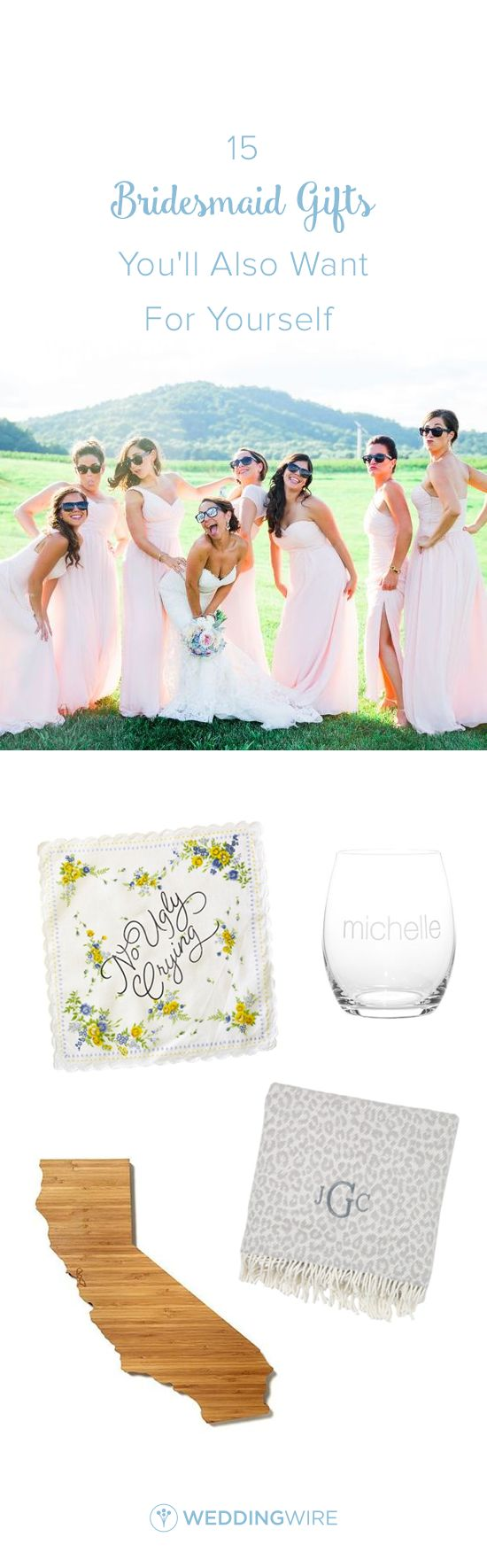 272 best bridesmaid gift ideas images on pinterest dream wedding 15 bridesmaid gifts youll also want for yourself solutioingenieria Choice Image