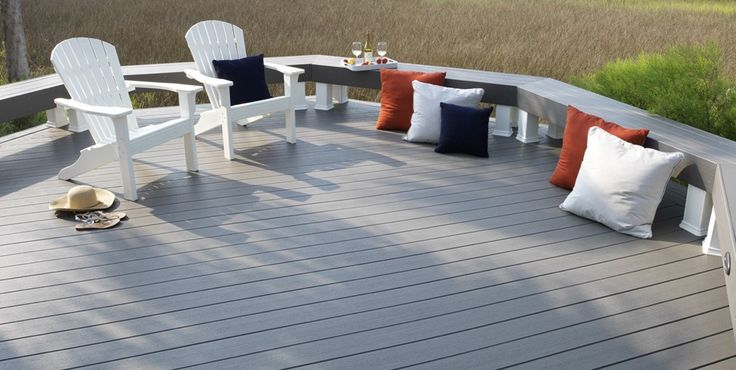 17 best ideas about gray deck on pinterest decking ideas deck bench seating and painted decks. Black Bedroom Furniture Sets. Home Design Ideas