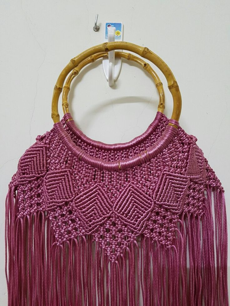 Macrame bag                                                                                                                                                     More