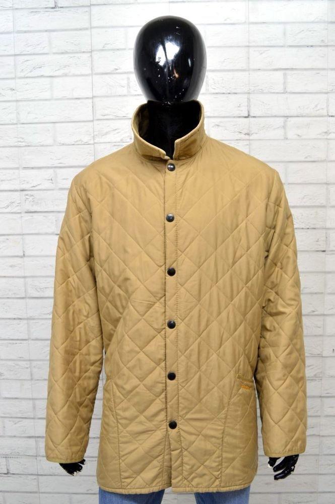 BARBOUR Giubbotto Cappotto Uomo Giacca Taglia Size XL Giubbino Jacket  Imbottita 7da6b22bac4