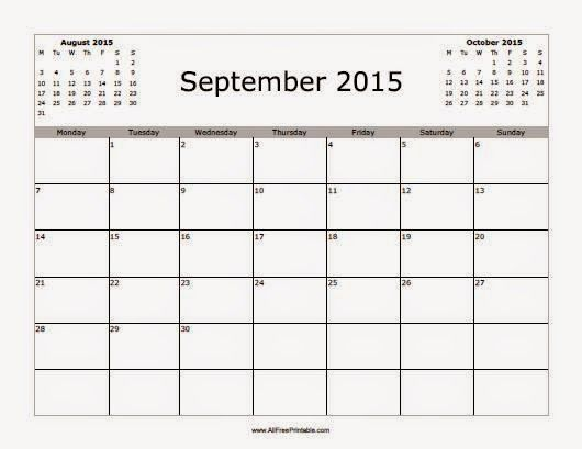 11 best Free Printable Calendar September 2015 images on Pinterest - check stub template free