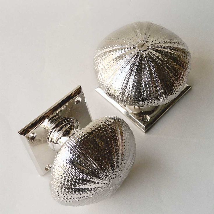 Sea Urchin Door Knob and Cupboard Knob...this is why I love Pinterest. My new Master bath pulls!