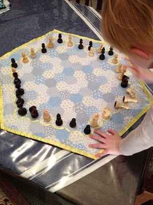 Faith and Felt Obsession: Sew a Hexagonal Game Board