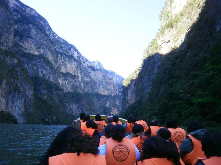 Tour por el Cañon del Sumidero, Chiapas