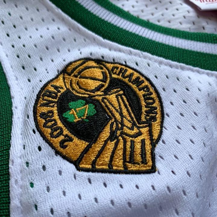 Kevin Garnett 5 Boston Celtics 07 08 Nba Finals Jersey Nba Finals Kevin Garnett Boston Celtics