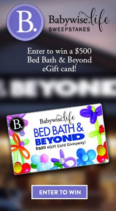 Win a $500 Bed Bath $ Beyond eGift card! PLEASE ENTER HERE: http://swee.ps/cEMIrdPMD  GOOD LUCK AND MANY THANKS!