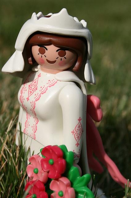 playmobil bride