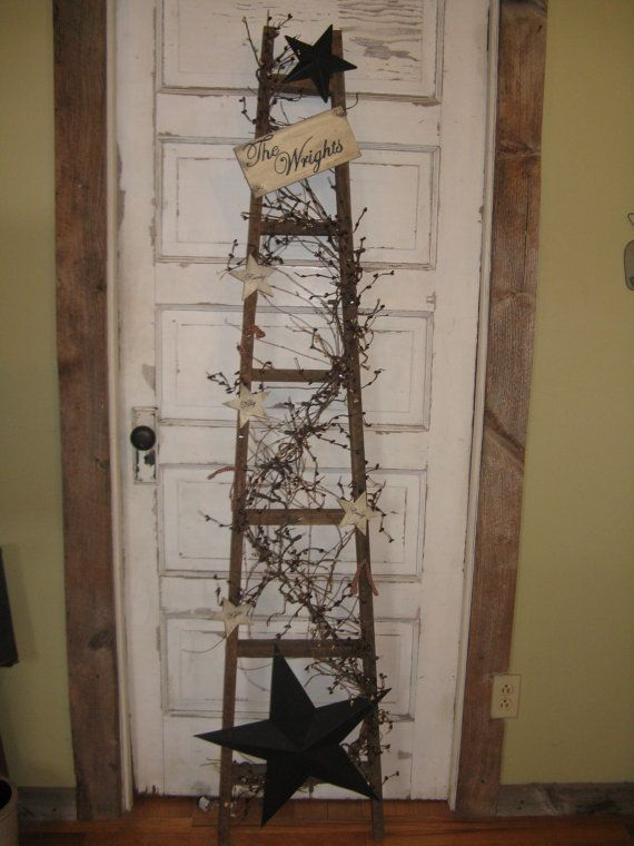 Personlized Apple Ladder by CoalCountryGathering on Etsy, $70.00
