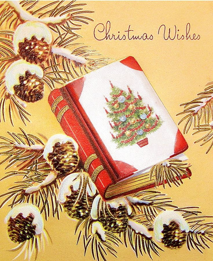 80 best Christmas Book Cards and Illustrations images on - blank xmas cards