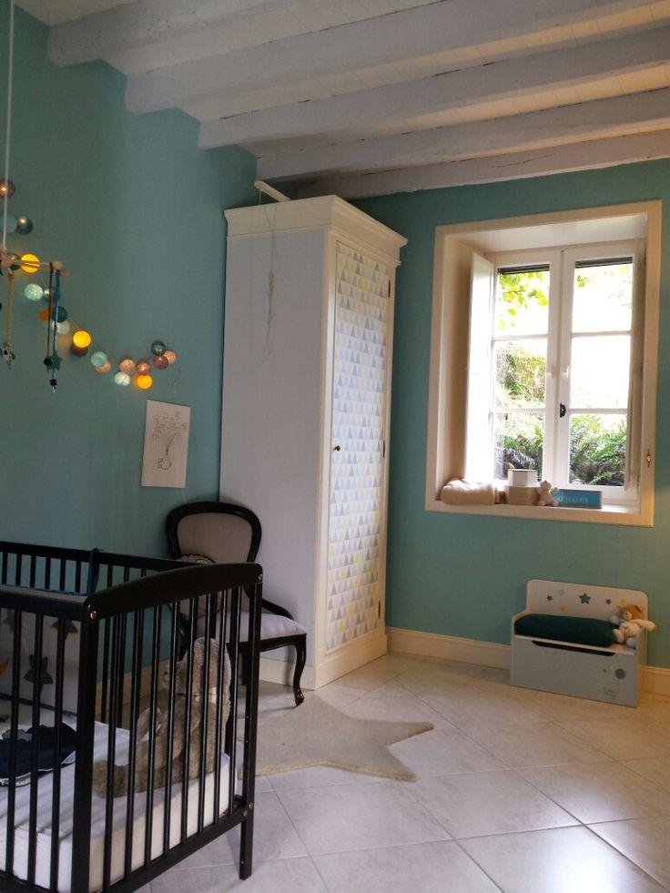 38 best Décoration chambre enfant bébé turquoise gris blanc images