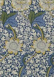 Image result for william morris wallpaper blue