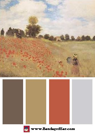 Poppy Fields Color Palette