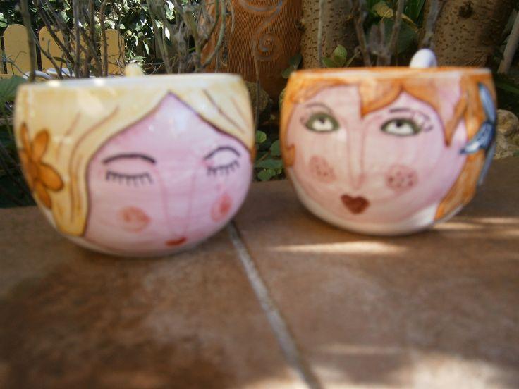 Le tazzine da caffè Ceramicamente