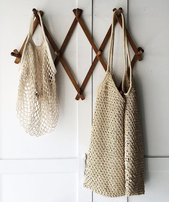 Parisian net market bags | Zero waste grocery shopping