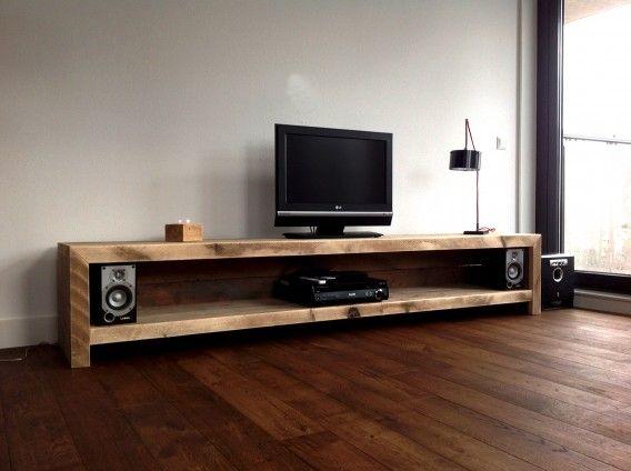 TV meubel van steigerhout