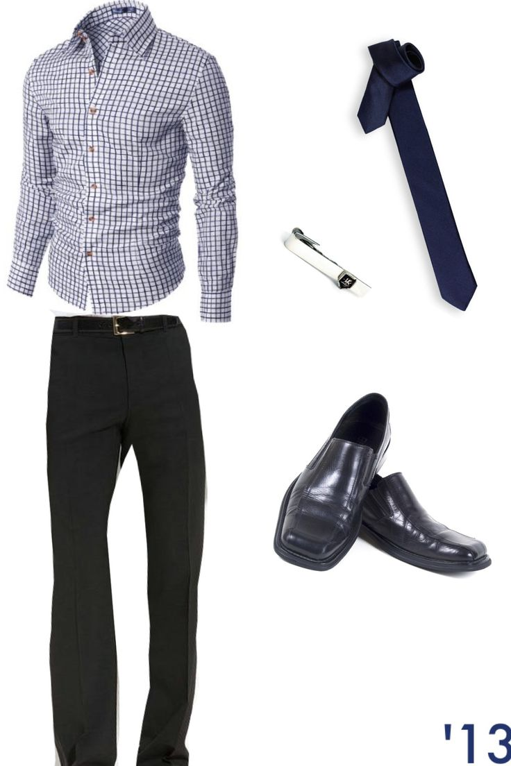 Funeral outfit for men