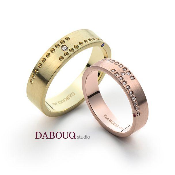Dabouq Studio Couple Ring - DR0004 - Simple+ #DABOUQ #Jewelry #쥬얼리 #CoupleRing #커플링 #ProposeRing #프로포즈링 #프로포즈반지 #반지 #결혼반지 #Dai반지 #Diamond #Wedding_Ring  #Wedding_Band #Gold #White_Gold #Pink_Gold #Rose_Gold