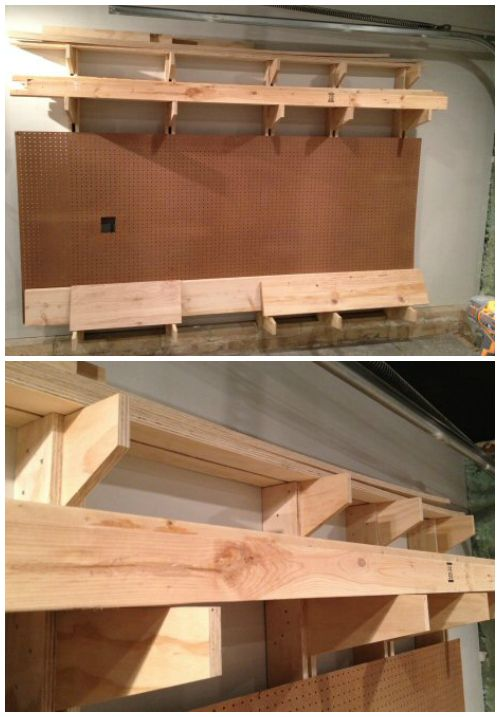 Cheap And Easy Diy Lumber Rack Diy And Crafts Easy Diy