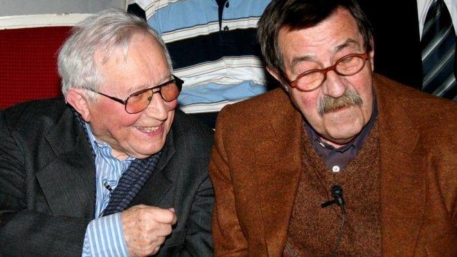 Tadeusz Różewicz and Günter Grass