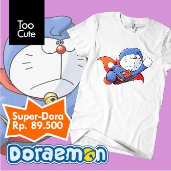 Kaos Super Doraemon