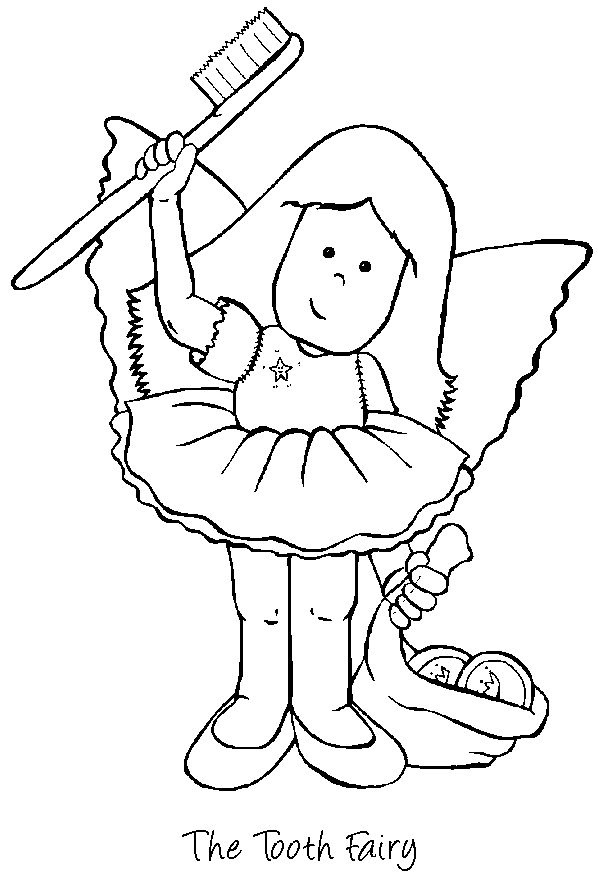 fairy coloring page 24 gif all about my kiddies pinterest tooth fairy teeth and color. Black Bedroom Furniture Sets. Home Design Ideas