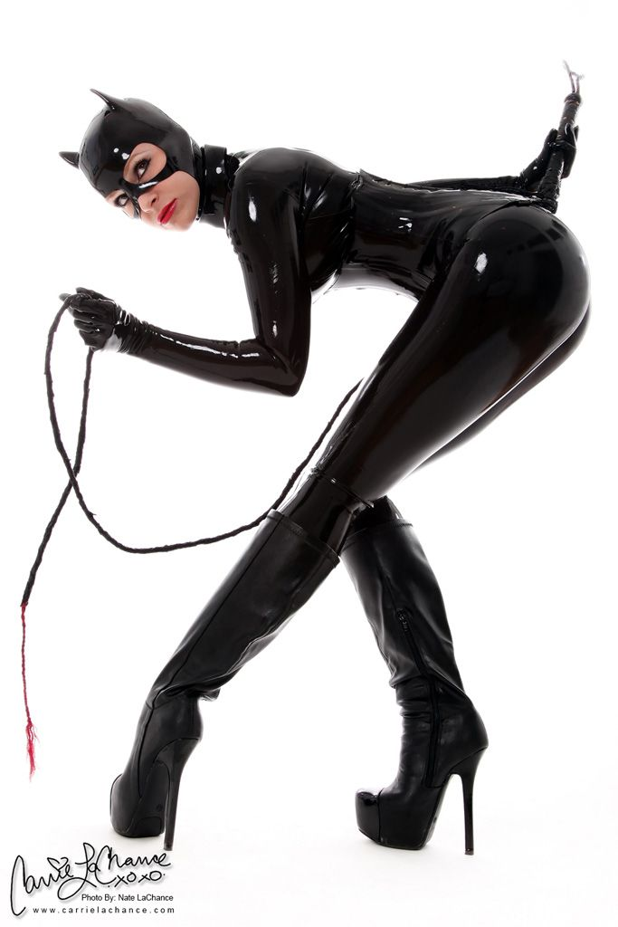 Best catwoman images on pinterest latex cosplay cat women