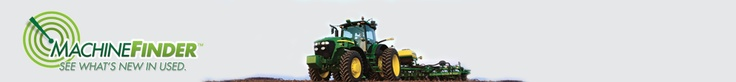 MachineFinder Header - used tractors