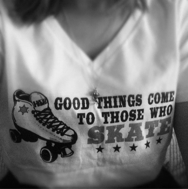 Good things come to those who skate. Pass the Star