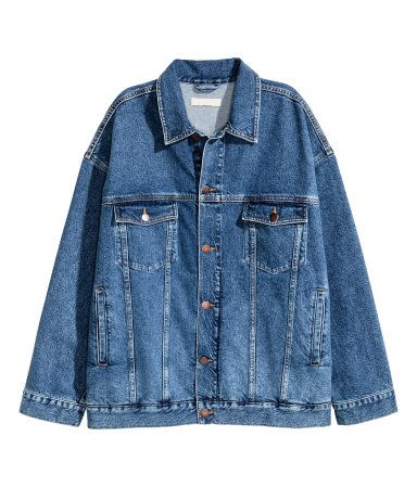 Ber ideen zu jeansjacke oversize auf pinterest for Jeansjacke oversize damen