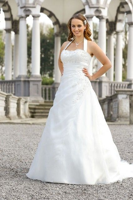 Ladybird ls55000 Plus size bridal wedding dresses and wedding gowns
