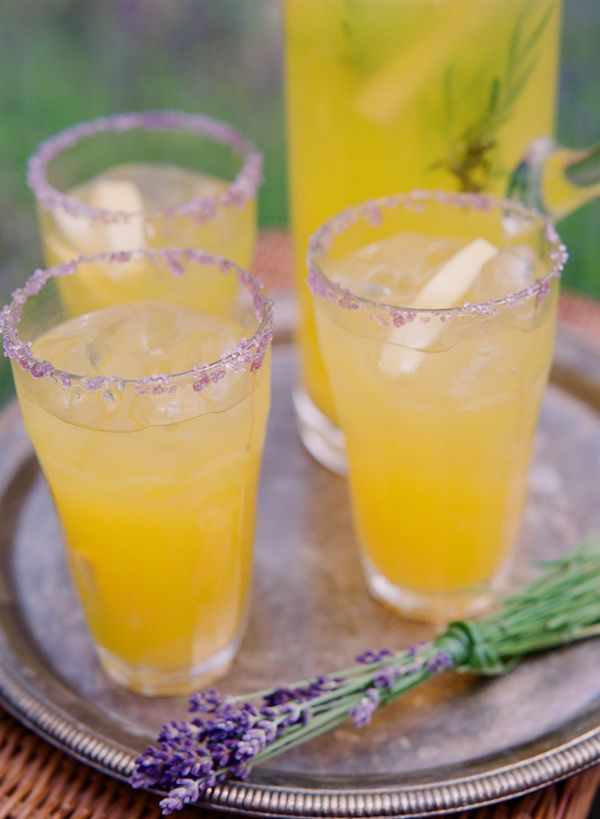 lemonade cocktails with a lavender sugar rim // photo by Stacey Hedman // drink by Root Catered Events