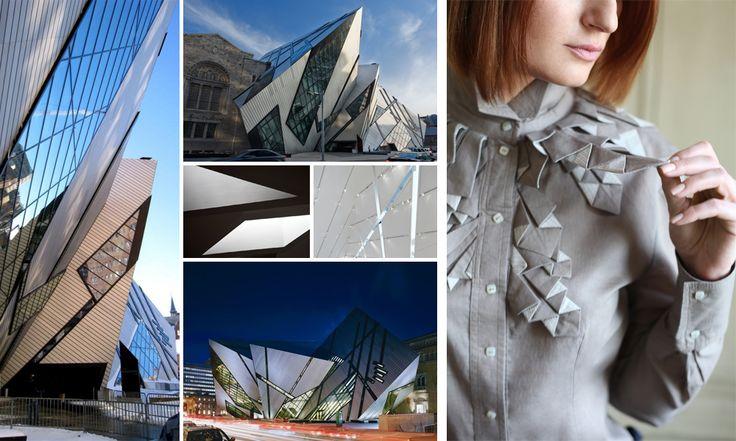 #architecture #fashion #shirt #ROM Royal Ontario Museum #Canada