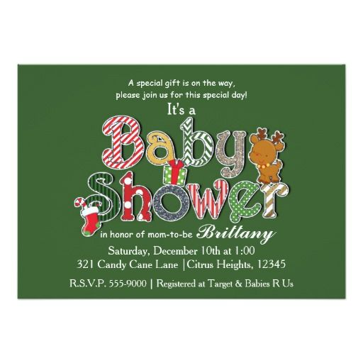 362 best holiday baby shower invitations images on pinterest baby christmas holiday festive baby shower invitations stopboris Images