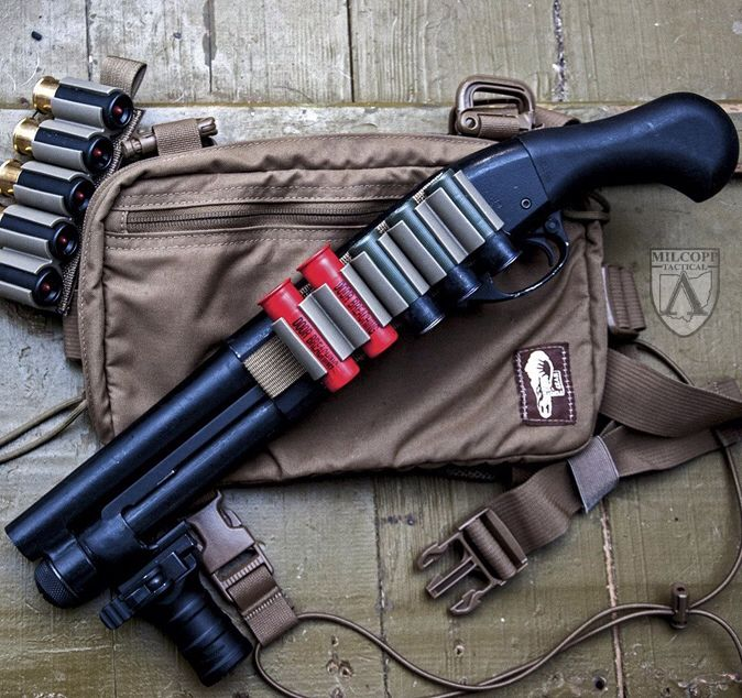 Shotgun, shorty, survival, tactical, weapons, self defense, protection, protect, knifes, concealed, 2nd amendment, america, 'merica, firearms, caliber, ammo, shells, ammunition, bore, bullets