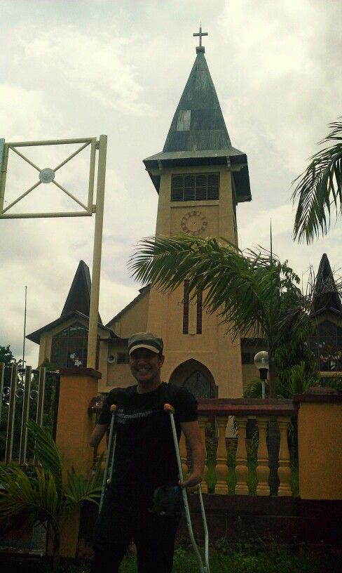 Cathedral church, Maumere - Flores NTT, INDONESIA