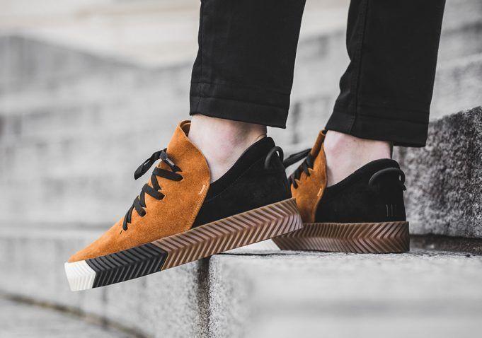 Alexander Wang x Adidas Originals AW SKATE SHOES SAND BY8908 sz 8.5 US / 8 UK #adidasAWOriginals #SkateShoes