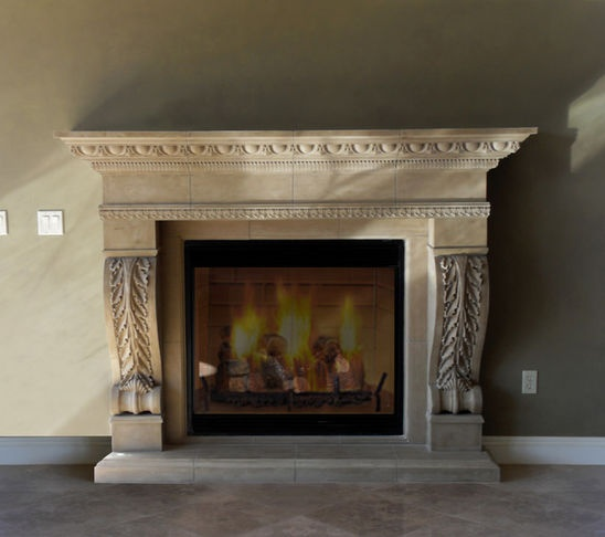1000 Images About High End Architectural Stone Fireplace