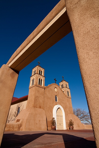 San Miguel Mission, New Mexico.