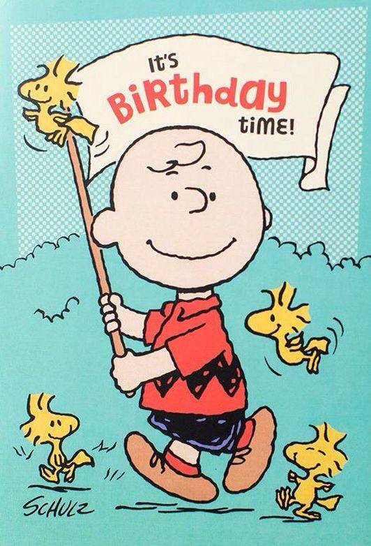 peanuts brown birthday - the 85 best images about snoopy birthday on ...